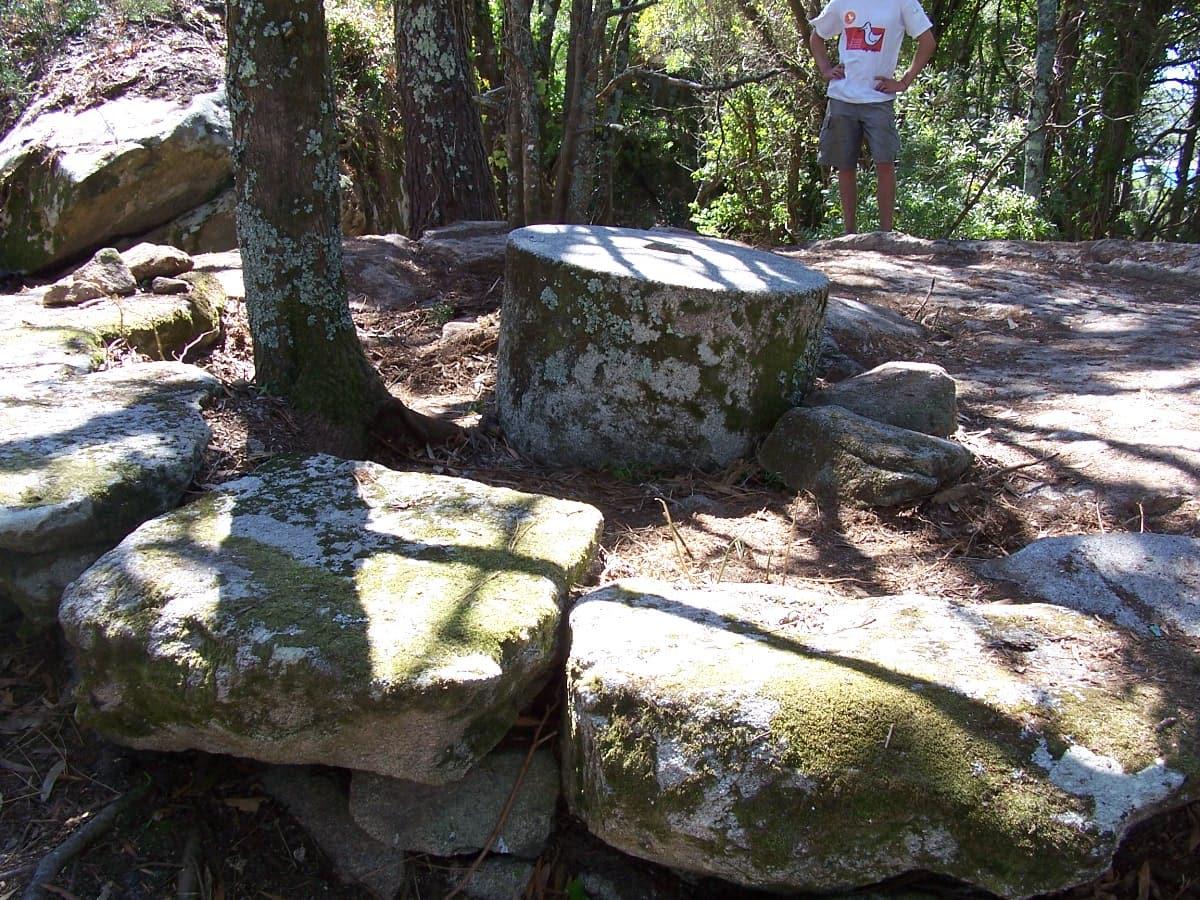 Arqueoloxía en Cíes a través dun caderno de campo (I)