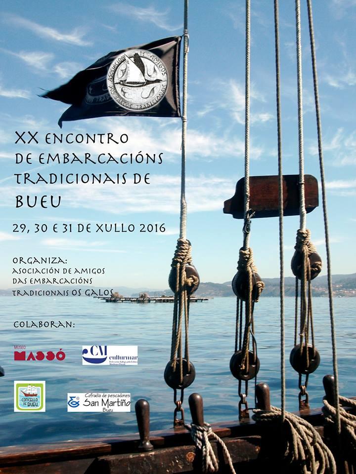 XX encontro de embarcacións tradicionais de Bueu