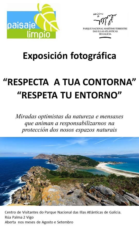 Exposición fotográfica para a concienciación ambiental