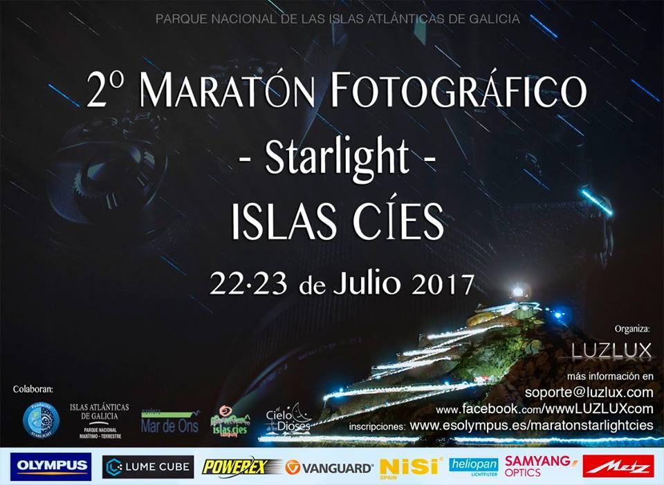 Esta fin de semana celébrase nas illas Cíes o 2º Maratón Fotográfico Starlight