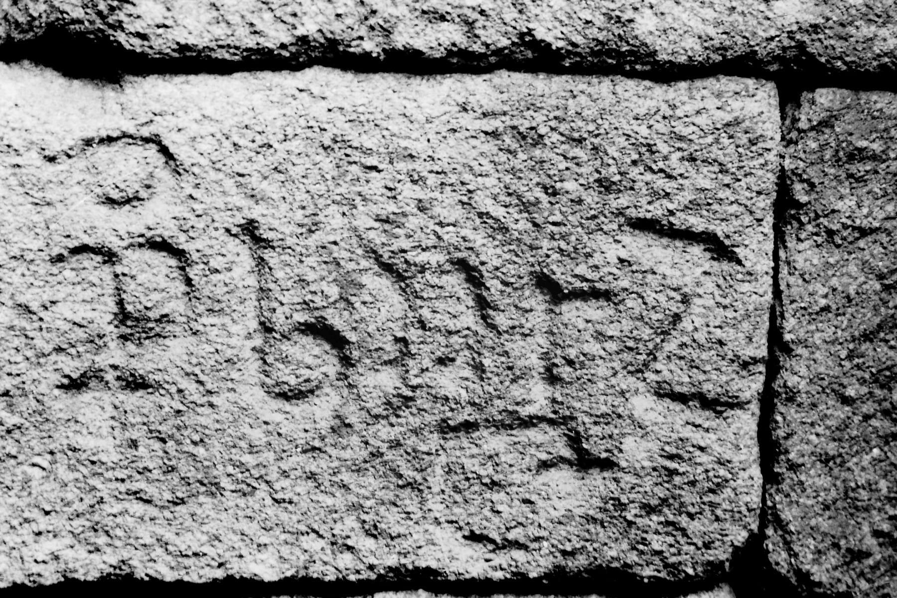 Perpiaños con marcas de canteiro en Santo Estevo. Cíes (I)