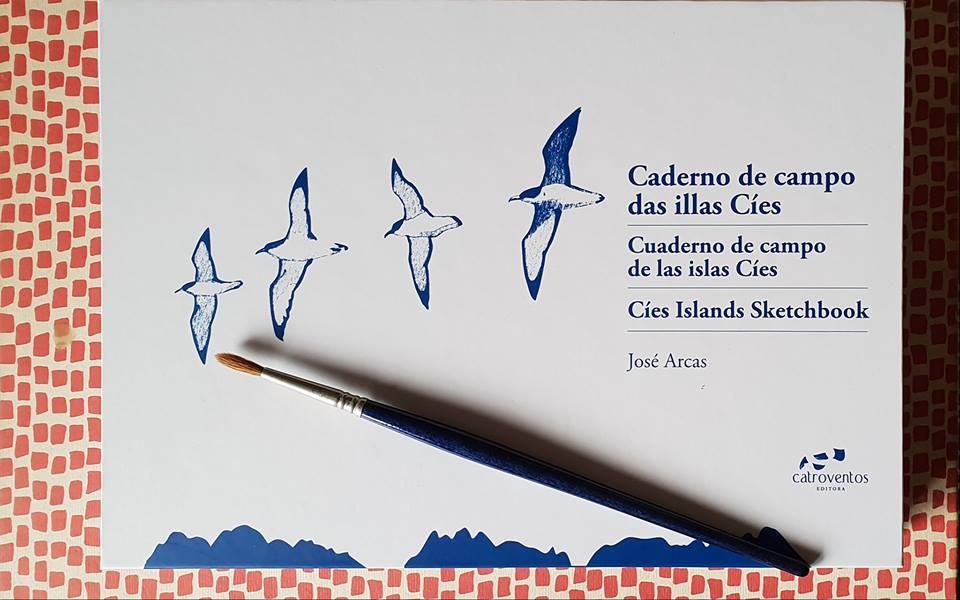 """Presentación do libro """"Caderno de campo das illas Cíes"""""""