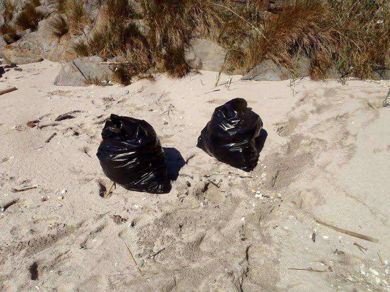 Semana de sensibilización fronte ao lixo no Centro de Visitantes das Illas Atlánticas