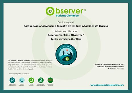 certificación observer