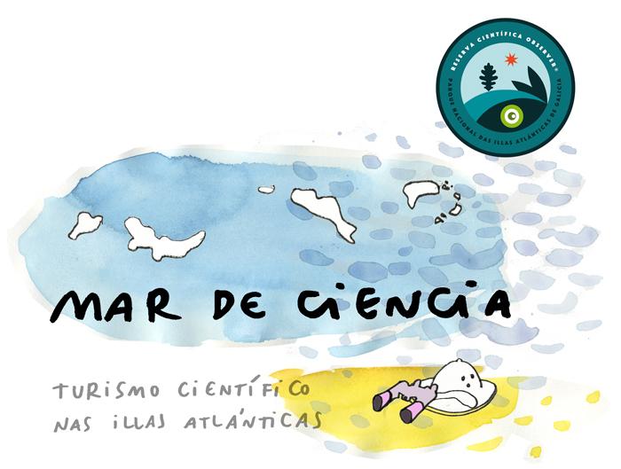 Un Mar de Ciencia no Parque Nacional das Illas Atlánticas de Galicia