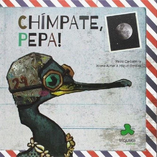 Chimpate, Pepa! o corvo mariño das illas Cíes