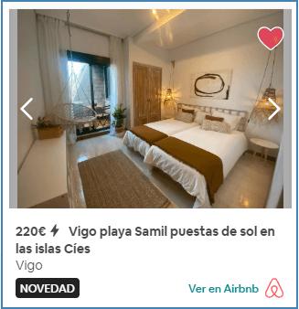 Apartamento Vigo playa Samil