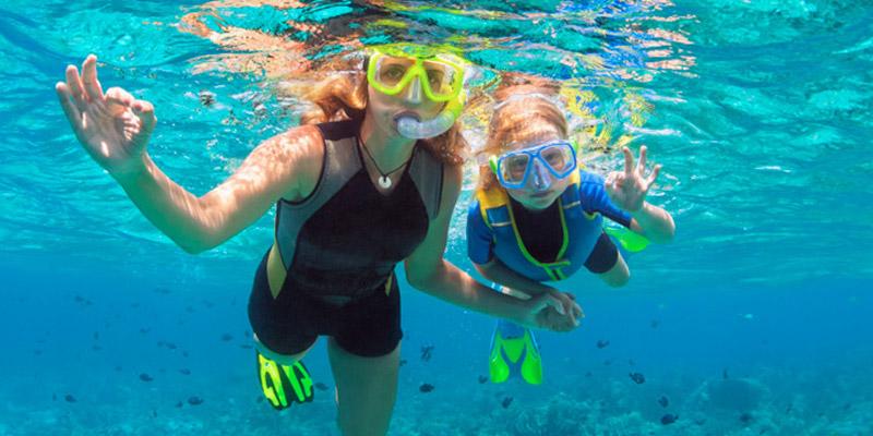 snorkel familia cíes