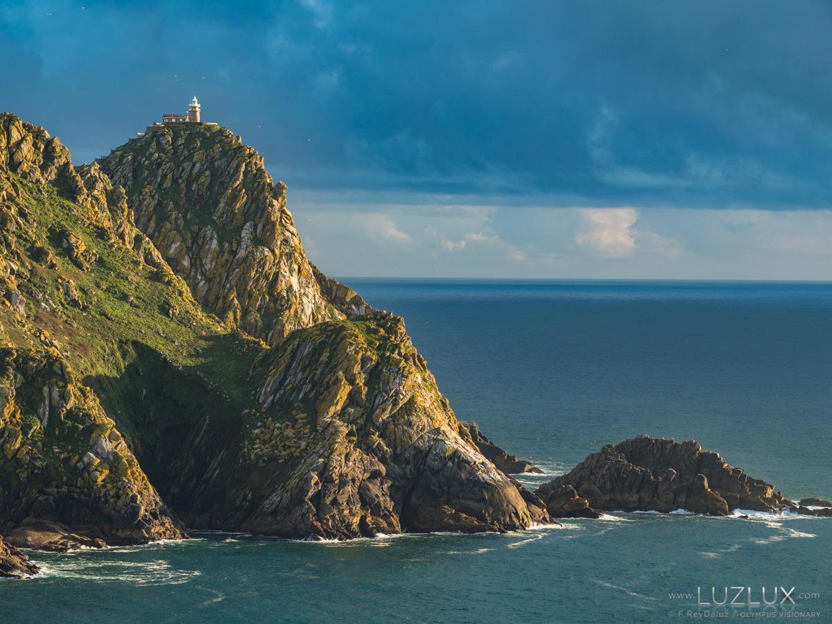 Montefaro, islas Cíes en la ría de Vigo. Rías Baixas de Galicia