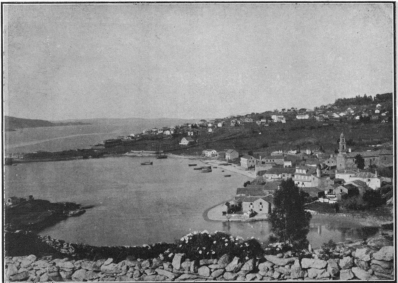 Ría de Aldán en 1930