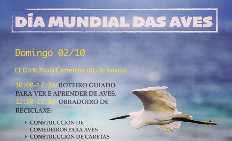 Celebra o Día Mundial das Aves con Alados Medioambiente