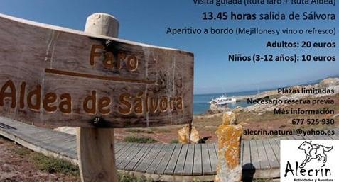 """Visita a illa de Sálvora con """"Alecrín Actividades y Aventura"""""""