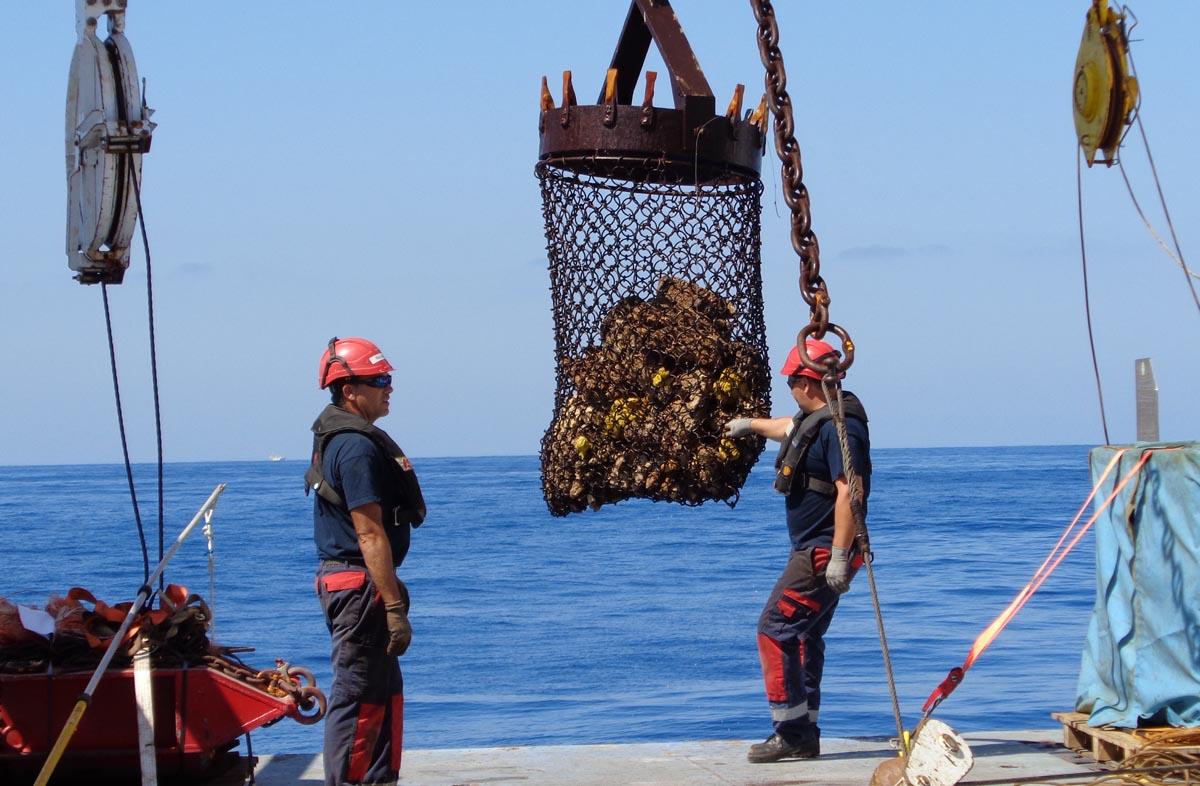 Un investigador vigués participa na exploración de canais submarinos no talude superior do golfo de Cádiz