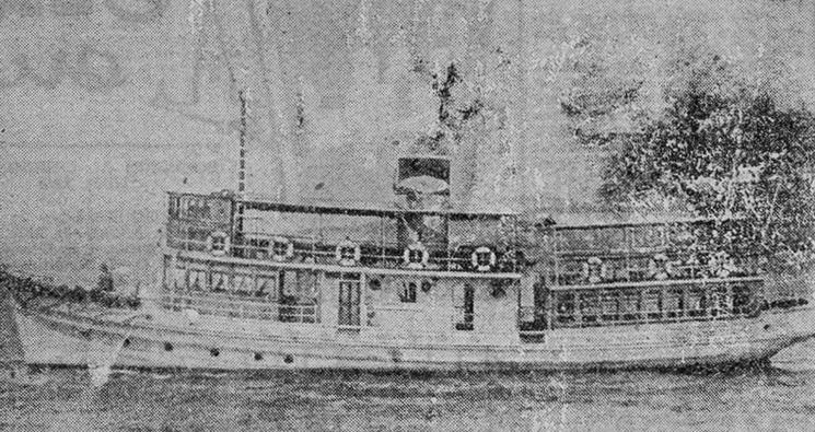 Barco de pasaje Cangas