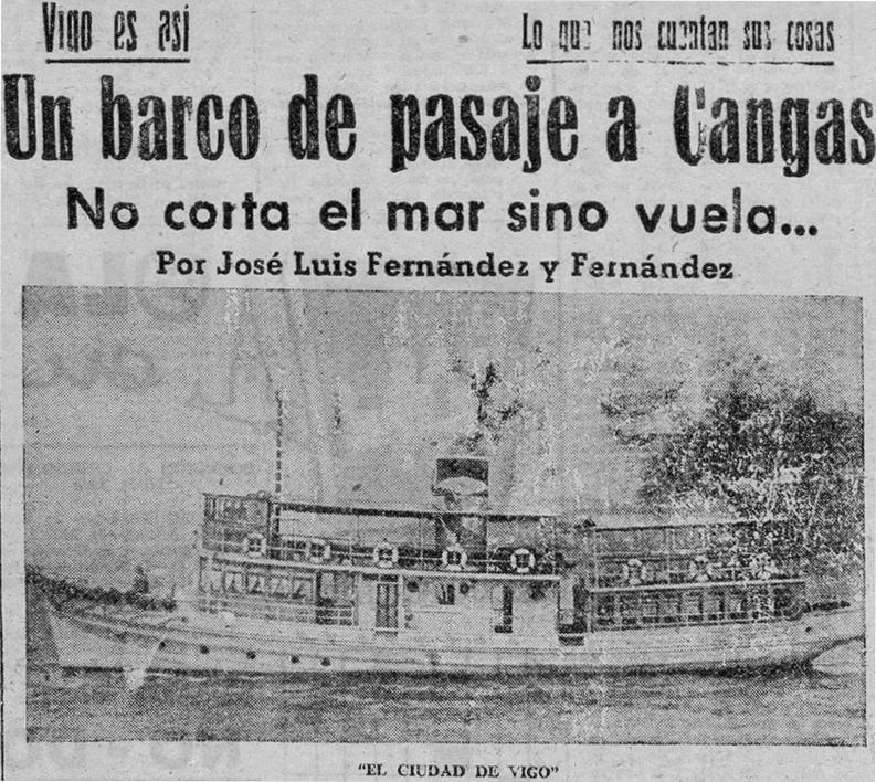 Entrevista ao vapor de pasaxe Ciudad de Vigo (I)