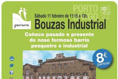 Percorre Bouzas industrial con Vigo Pesqueiro
