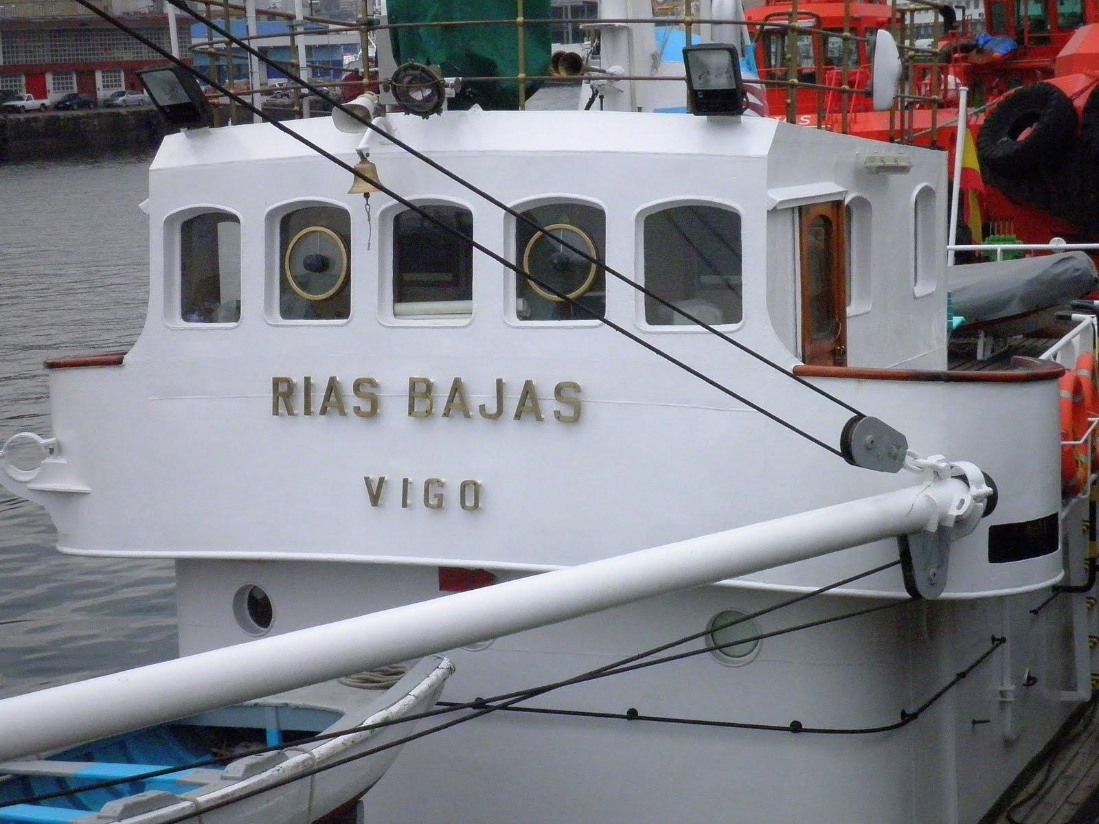 """Ponte do buque balizador """"Rías Bajas"""""""