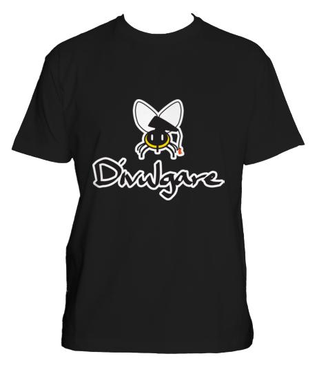 Divulgando ciencia con una camiseta Divulgare