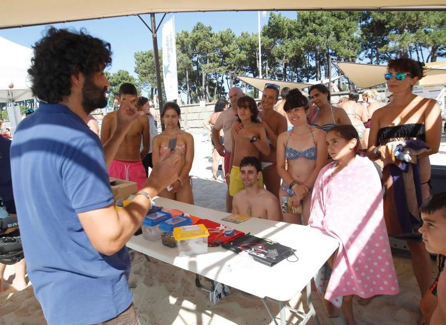 Programa divulgativo Mergúllate no Océano, Campus do Mar