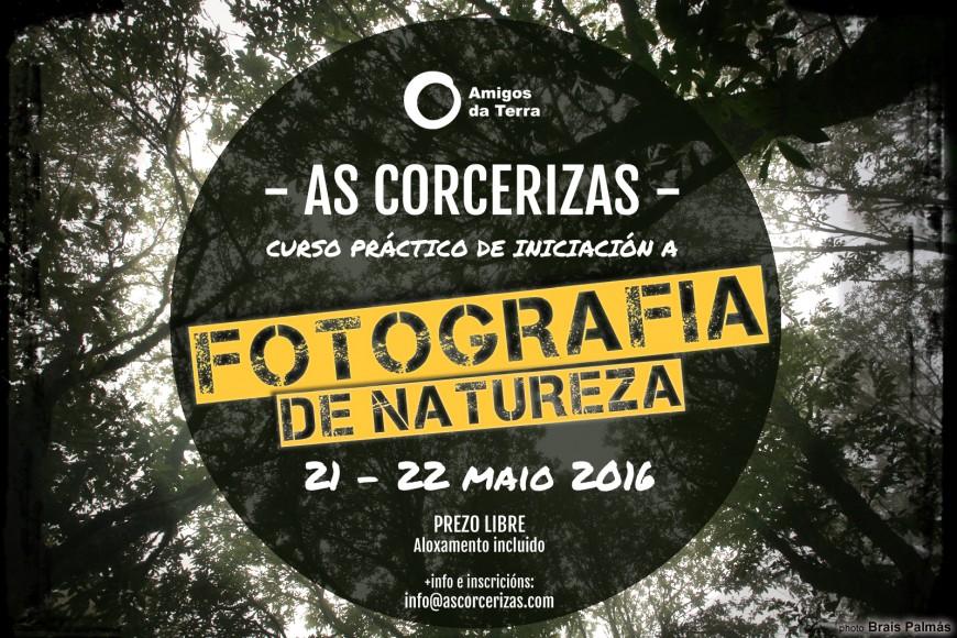 Curso práctico fotografía de natureza nas Corcerizas