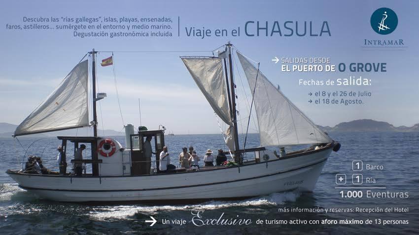 """Navegando en el """"Chasula"""" por el Parque Nacional y su entorno"""