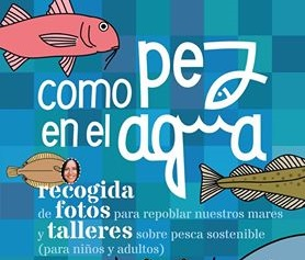 """Obradoiro sobre pesca sustentable """"Como pez en el agua"""""""