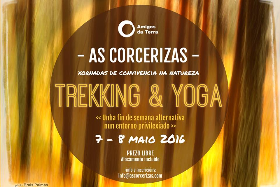 Trekking & Yoga en As Corcerizas
