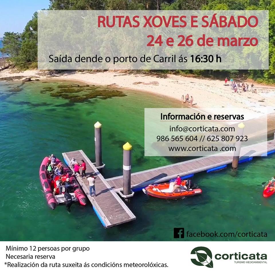 Visita guiada a la isla de Cortegada esta Semana Santa