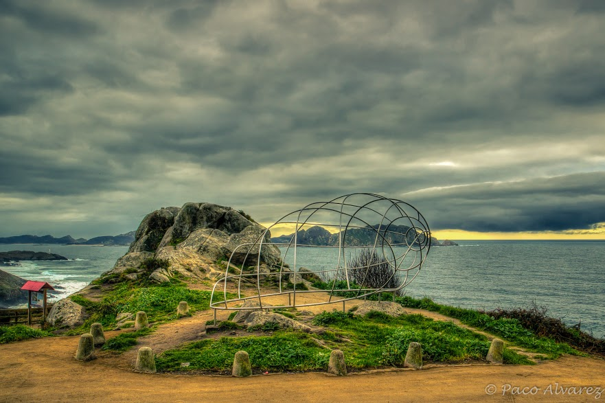 Caracola en Donón-Costa da Vela. Península do Morrazo