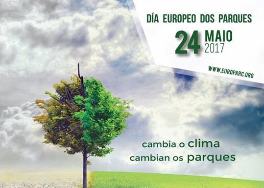 """24 de maio, Día Europeo dos Parques. """"Cambia o clima, cambian os Parques"""""""