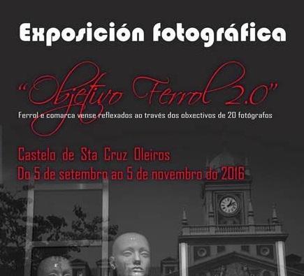 """Exposición """"Obxectivo Ferrol 2.0"""""""