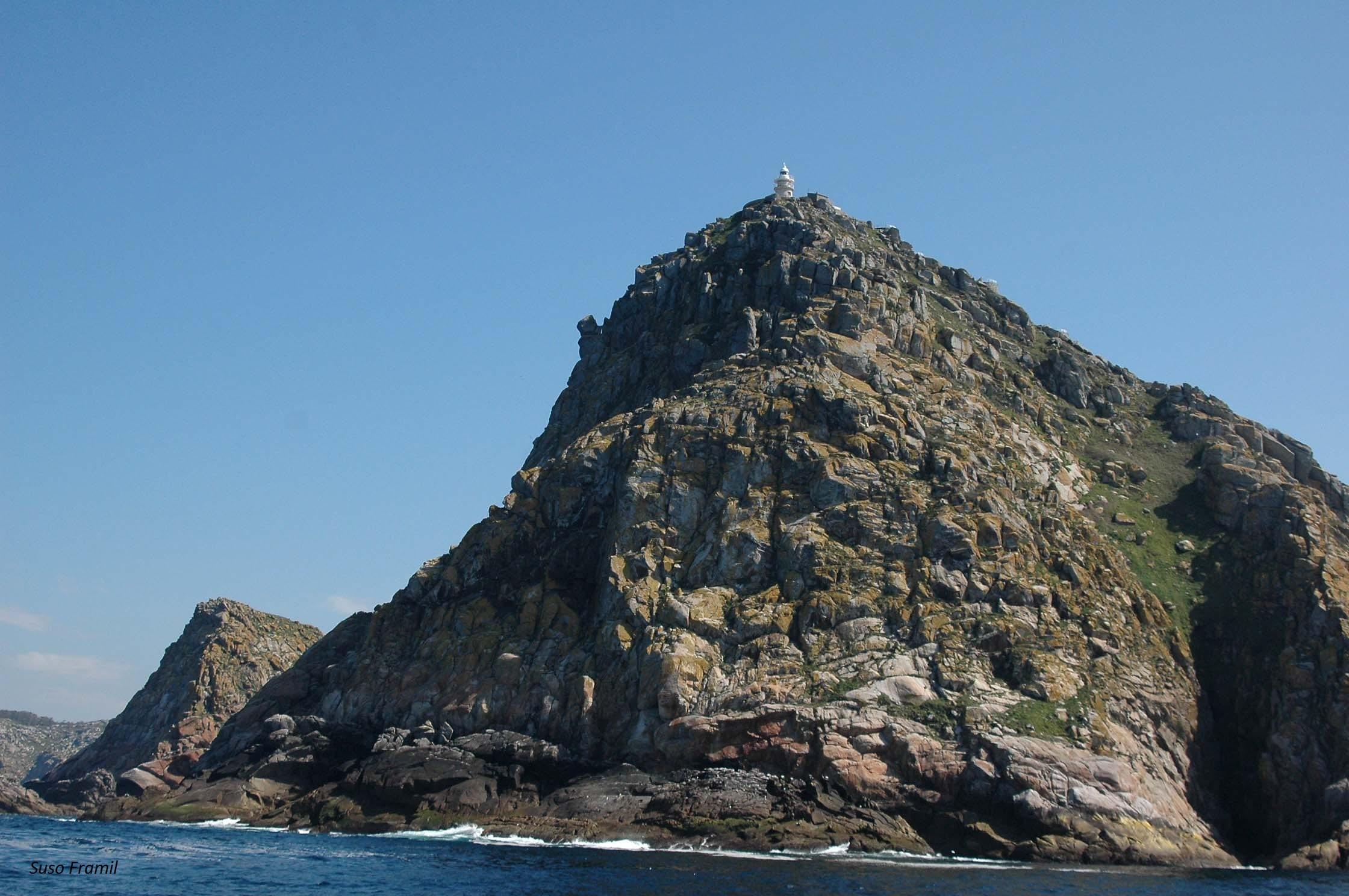 A Punta do Príncipe en Montefaro. Illas Cíes