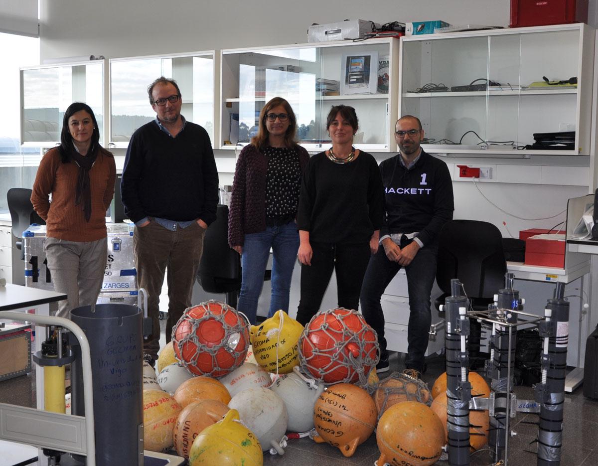 O grupo Geoma detecta chegadas periódicas de masas de auga doce á Conca Interior de Galicia durante os últimos 80.000 anos