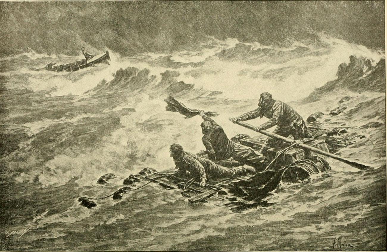 Bouzas estaba de loito, nove afogados e tres sobreviventes  tras o naufraxio do Weyler nº 8 (I)