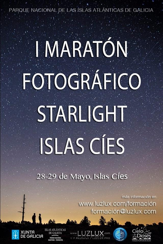 I Maratón fotográfico Starlight islas Cíes