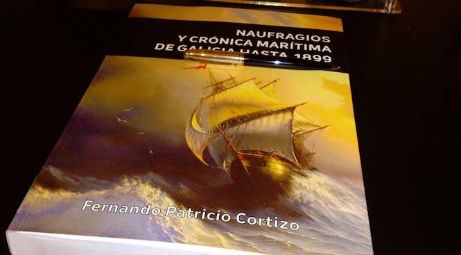 """Presentación do libro """"Naufragios y crónica marítima de Galicia hasta 1899"""""""