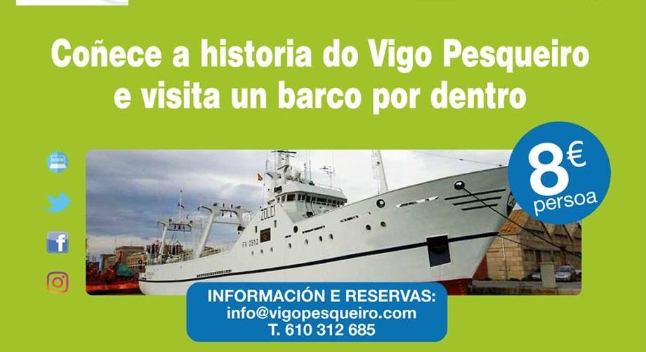 """Visita guiada """"Percorre"""". Vigo Pesqueiro"""
