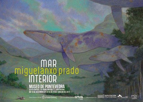 """Exposición de Miguelanxo Prado no Museo de Pontevedra: """"Mar interior"""""""