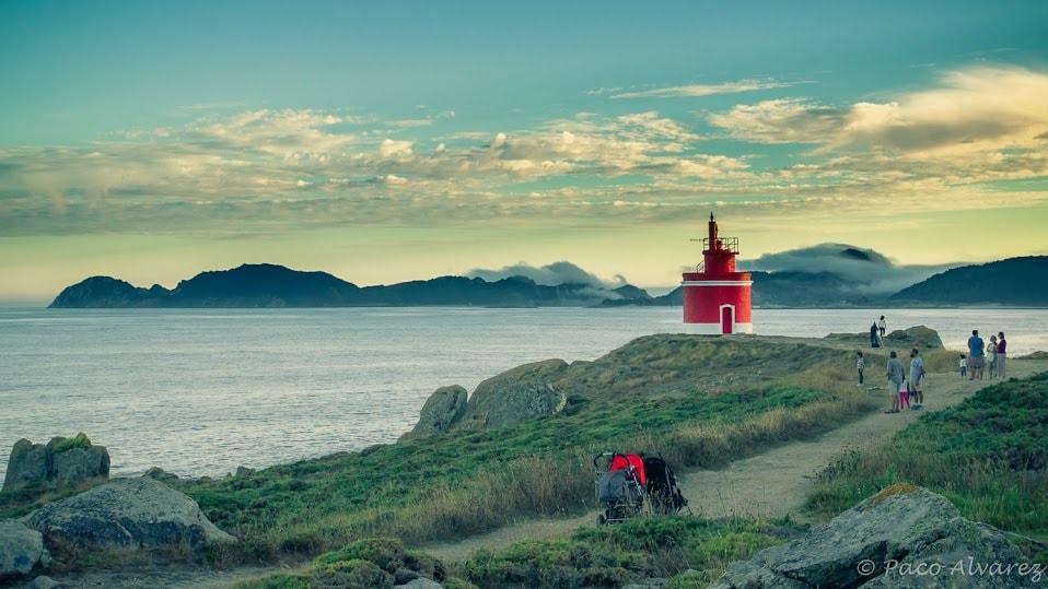 Punta Robaleira. Costa da Vela