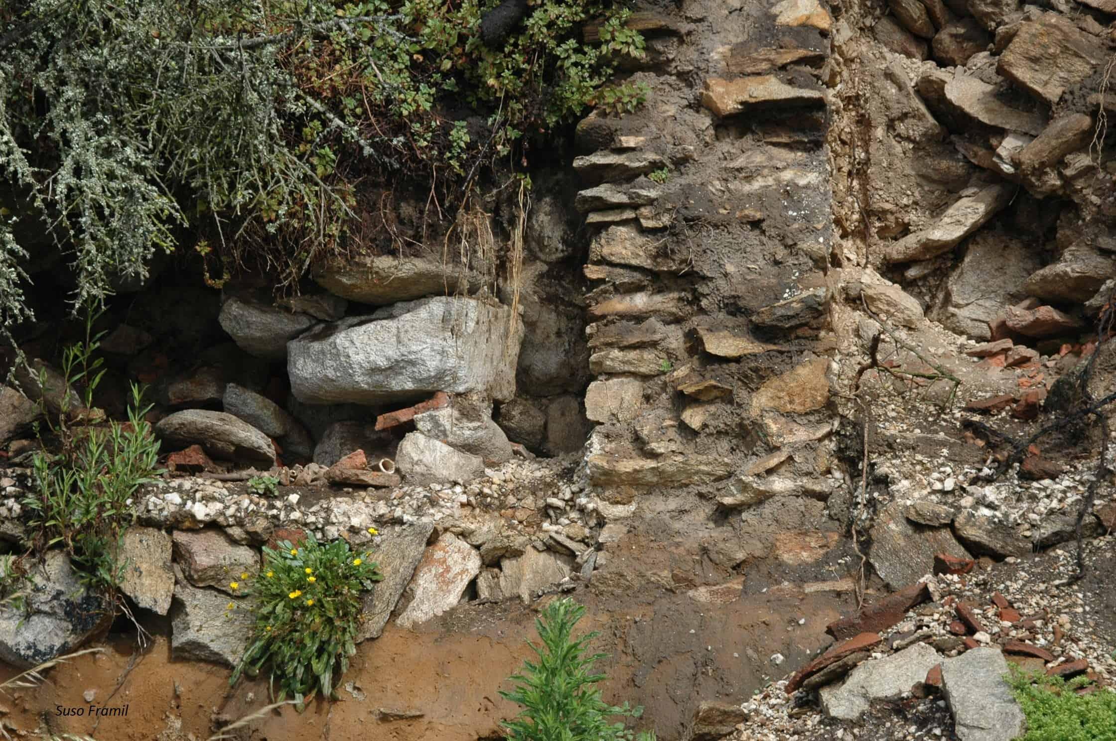 Restos dunha factoría de época romana en Ons?
