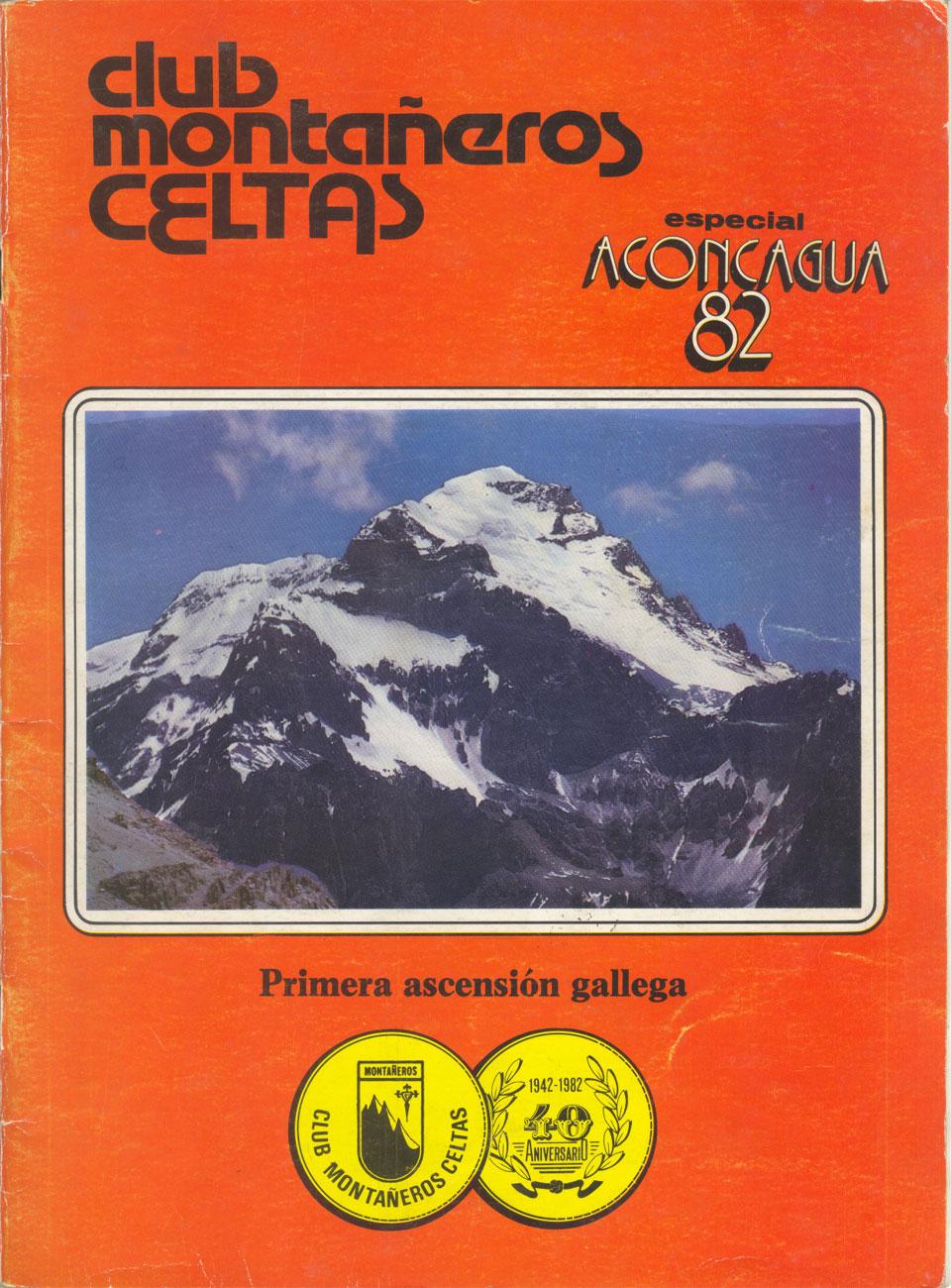 Boletín Montañeros Celtas. Especial Aconcagua 82