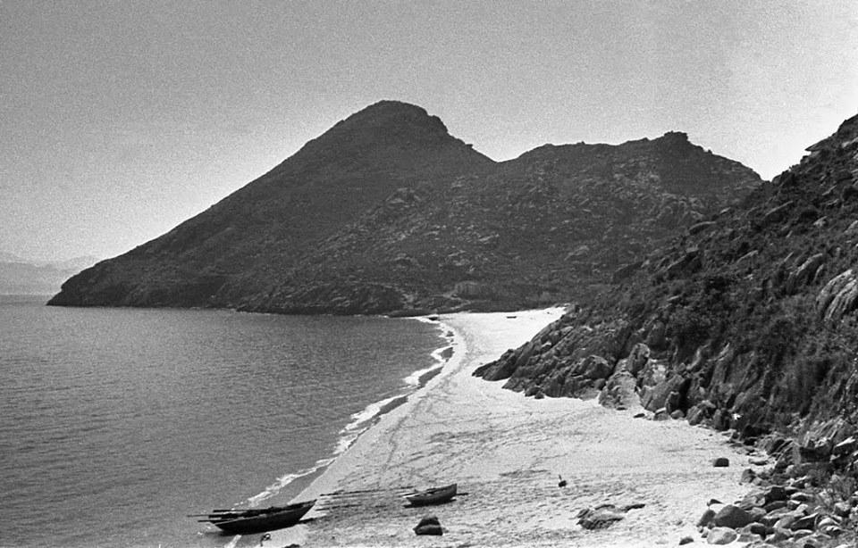 San Martiño en 1952. Illas Cíes