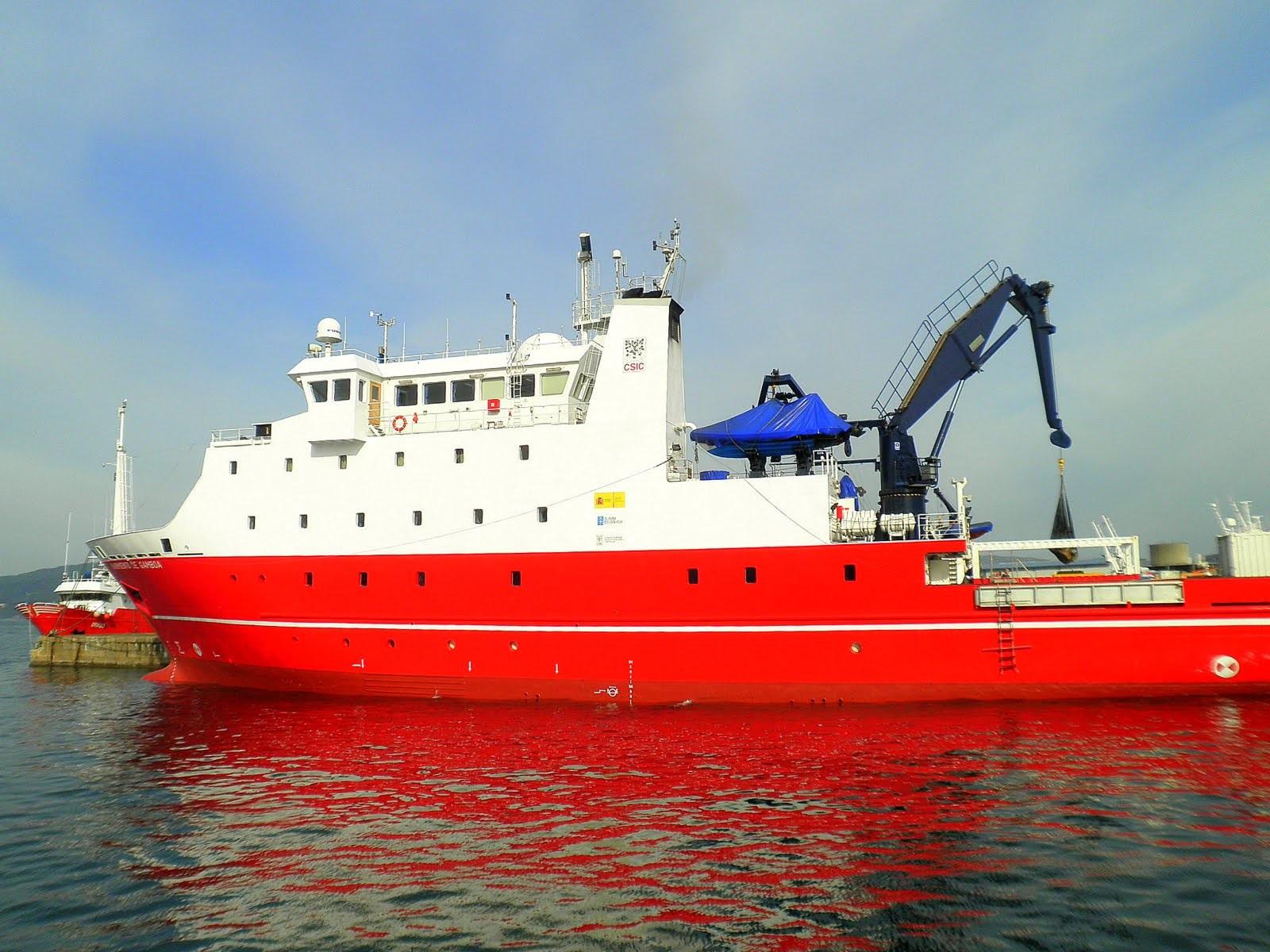 Campaña oceanográfica para avaliar a ecoloxía do recrutamento da pescada na plataforma galega
