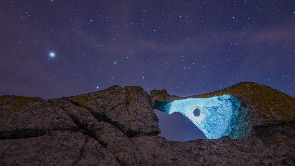 Actividades Starlight, gozando coa astronomía nas illas Cíes