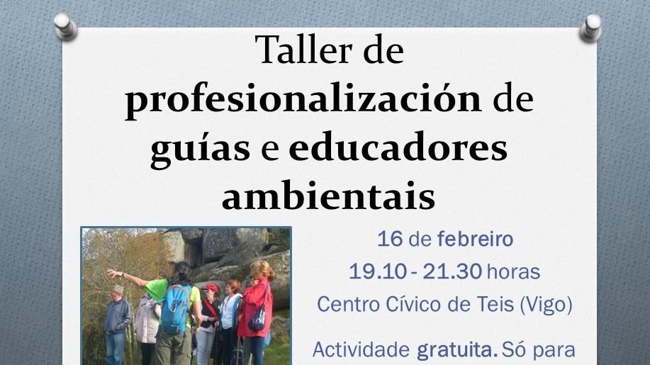 Taller de profesionalización de guías e educadores ambientais