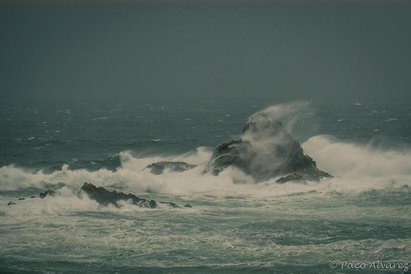 Vento, mar e choiva