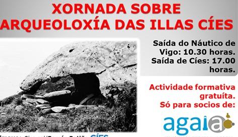 Jornada de Agaia sobre arqueología de las islas Cíes