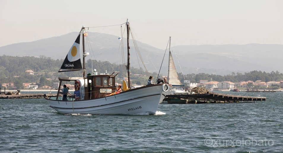 """Ímonos de pesca á ría de Arousa con Bluscus no """"Chasula"""""""
