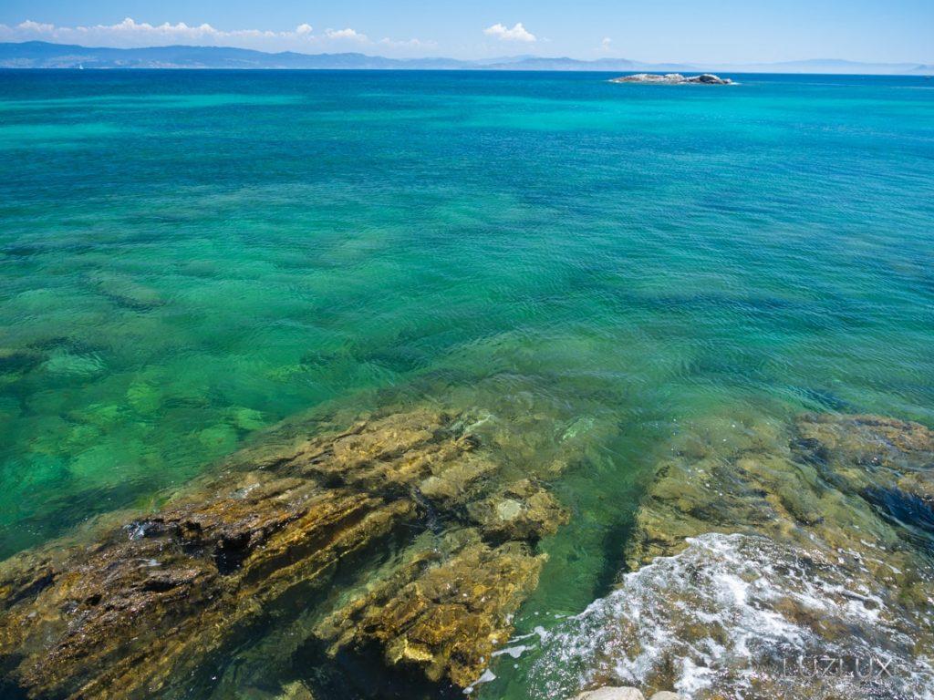 Imposible bañarse! A auga das rías no verán está fría a causa dos afloramentos. E iso que é?!