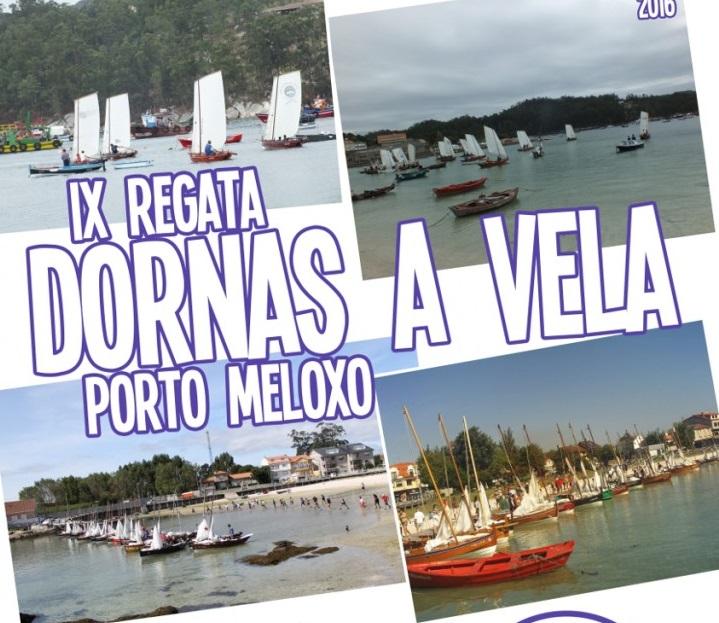 IX Regata dornas á vela porto Meloxo